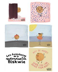Les aventures de la mademoiselle Biskwie