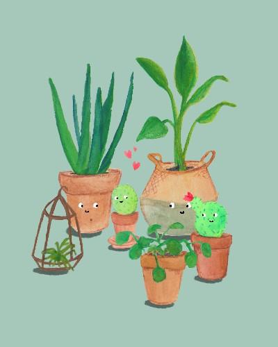 Cactus Illustratie