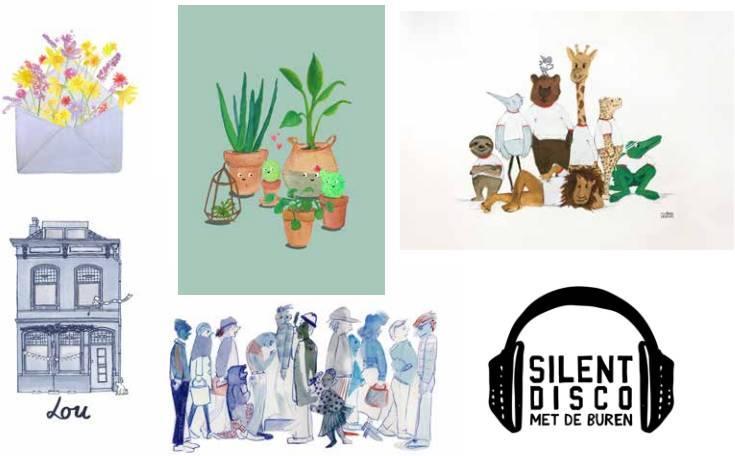 Illustraties Studio Lieselies Portfolio