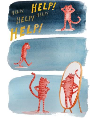 Prentenboek illustratie