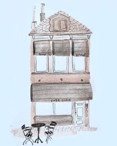 Huisportret Cafe Sjiek