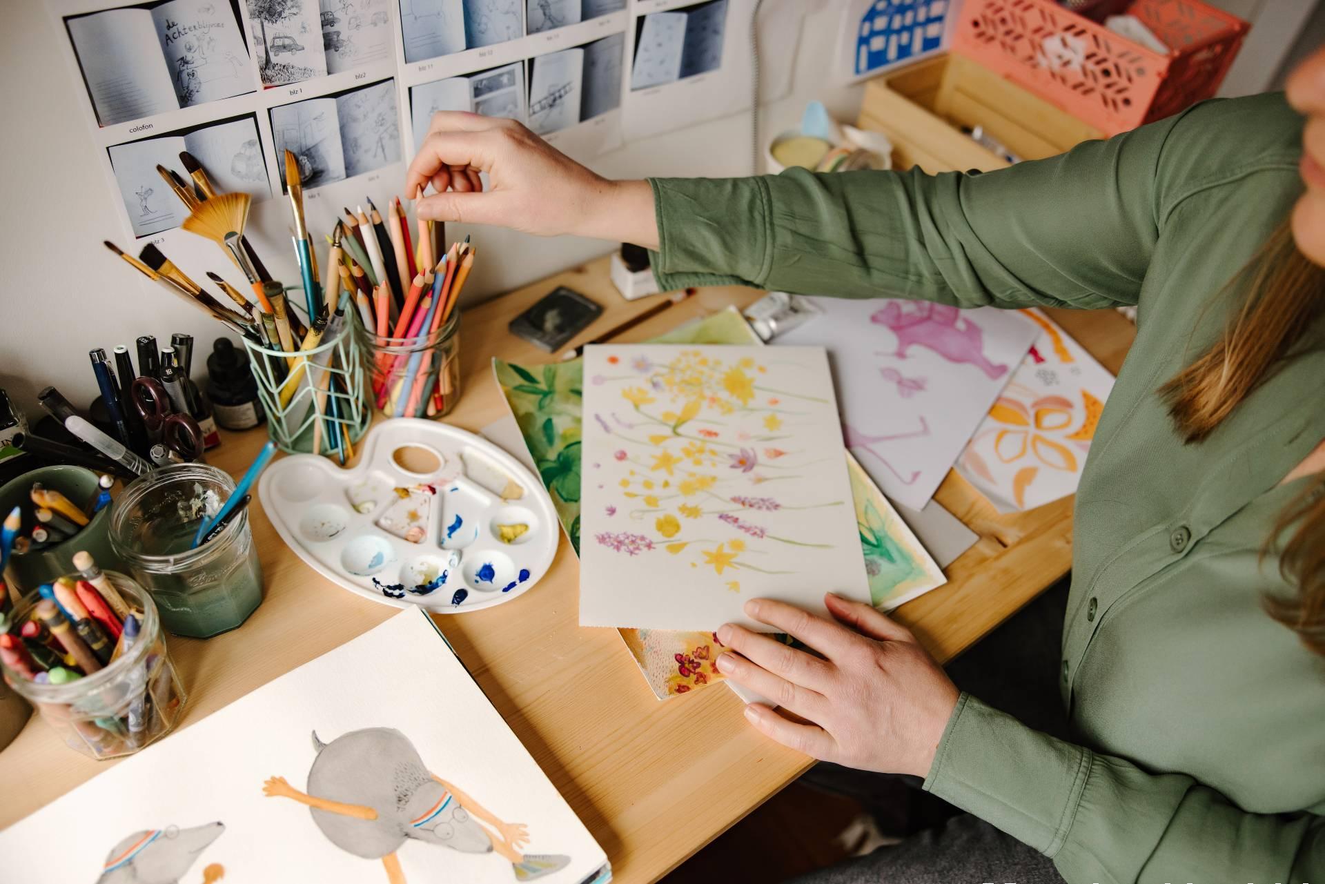 How Studio Lieselies makes an illustration